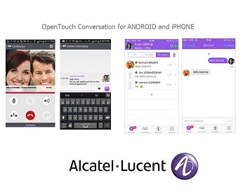 Alcatel-Lucent OPENTOUCH CONVERSATION FOR ANDROID AND İPHONE